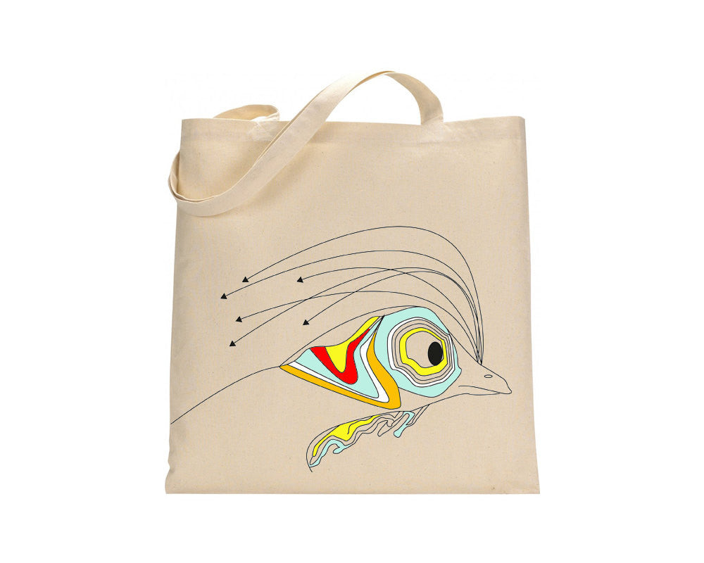 Colourful rooster tote bag - ARTsy clothing