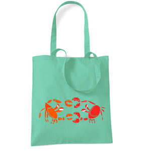 Bags - Crab Fight Tote Bag
