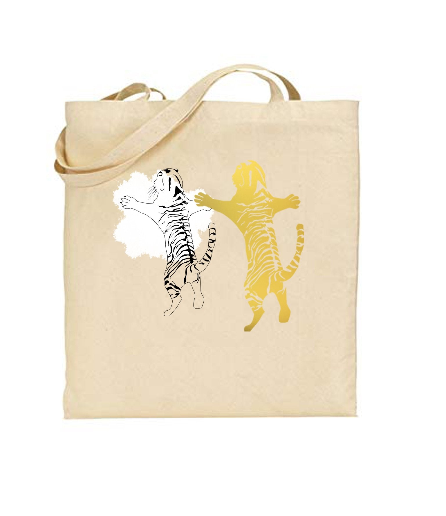 Bags - Double Tiger Tote Bag