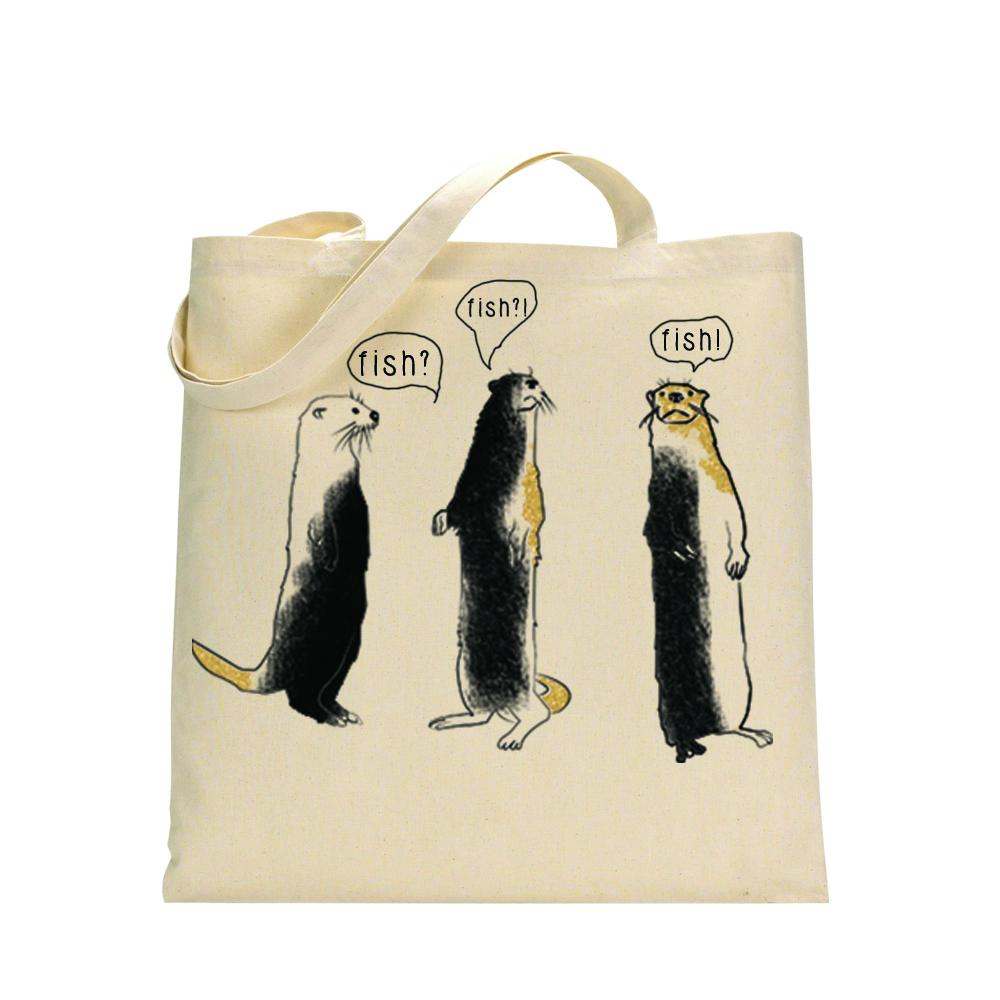 Bags - Otters Tote Bag
