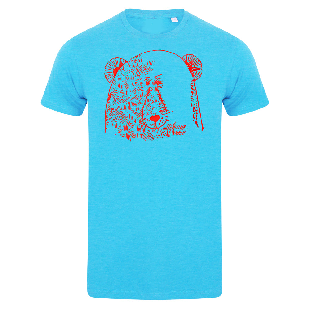 Bear face men t-shirt