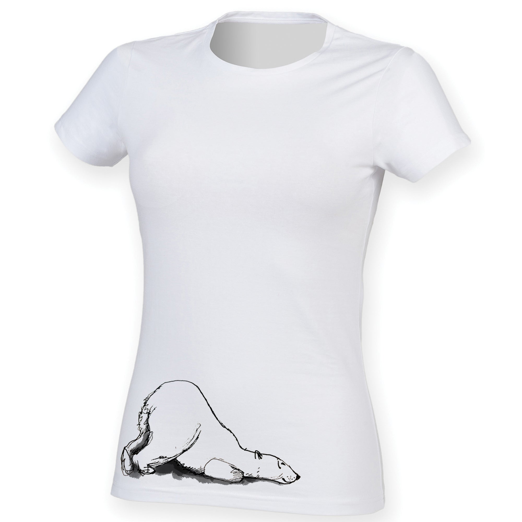 Polar bear women t-shirt