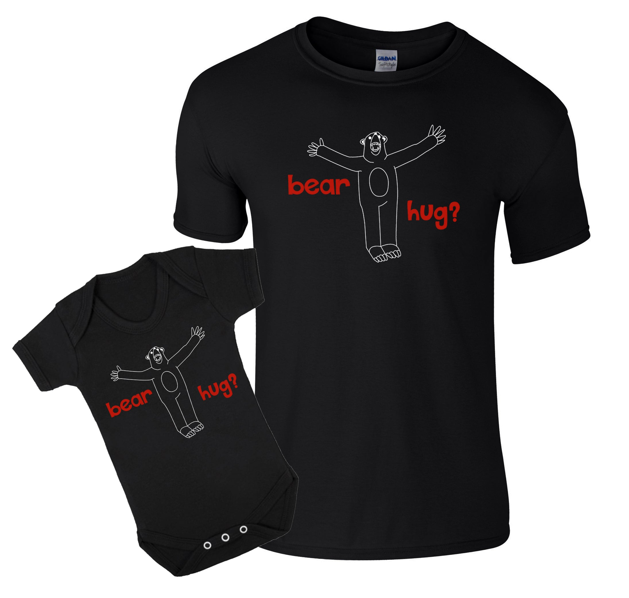 Dad and baby bear t-shirt/bodysuit
