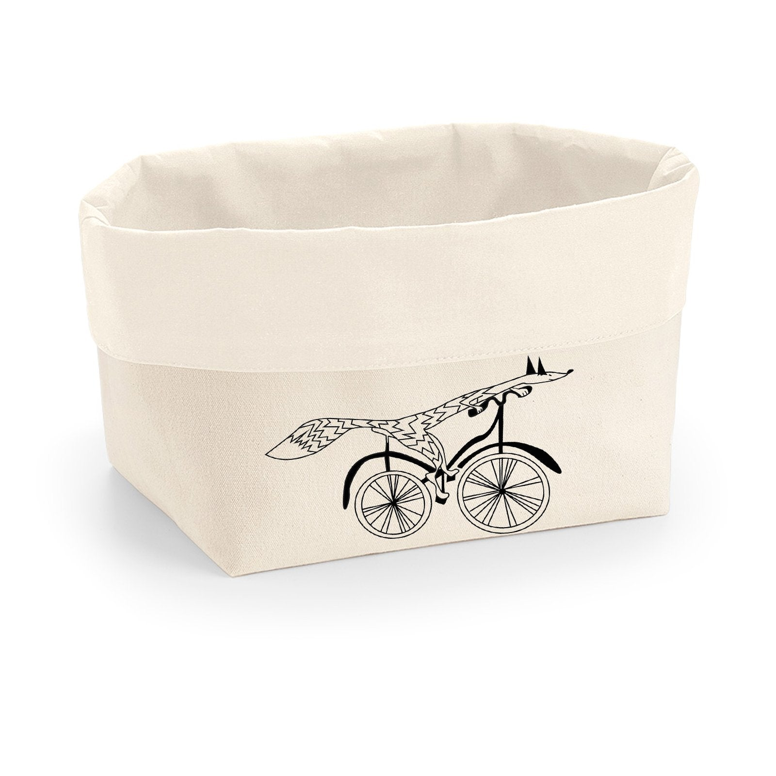 Canvas Organiser - Canvas Organiser, Fox On A Bike