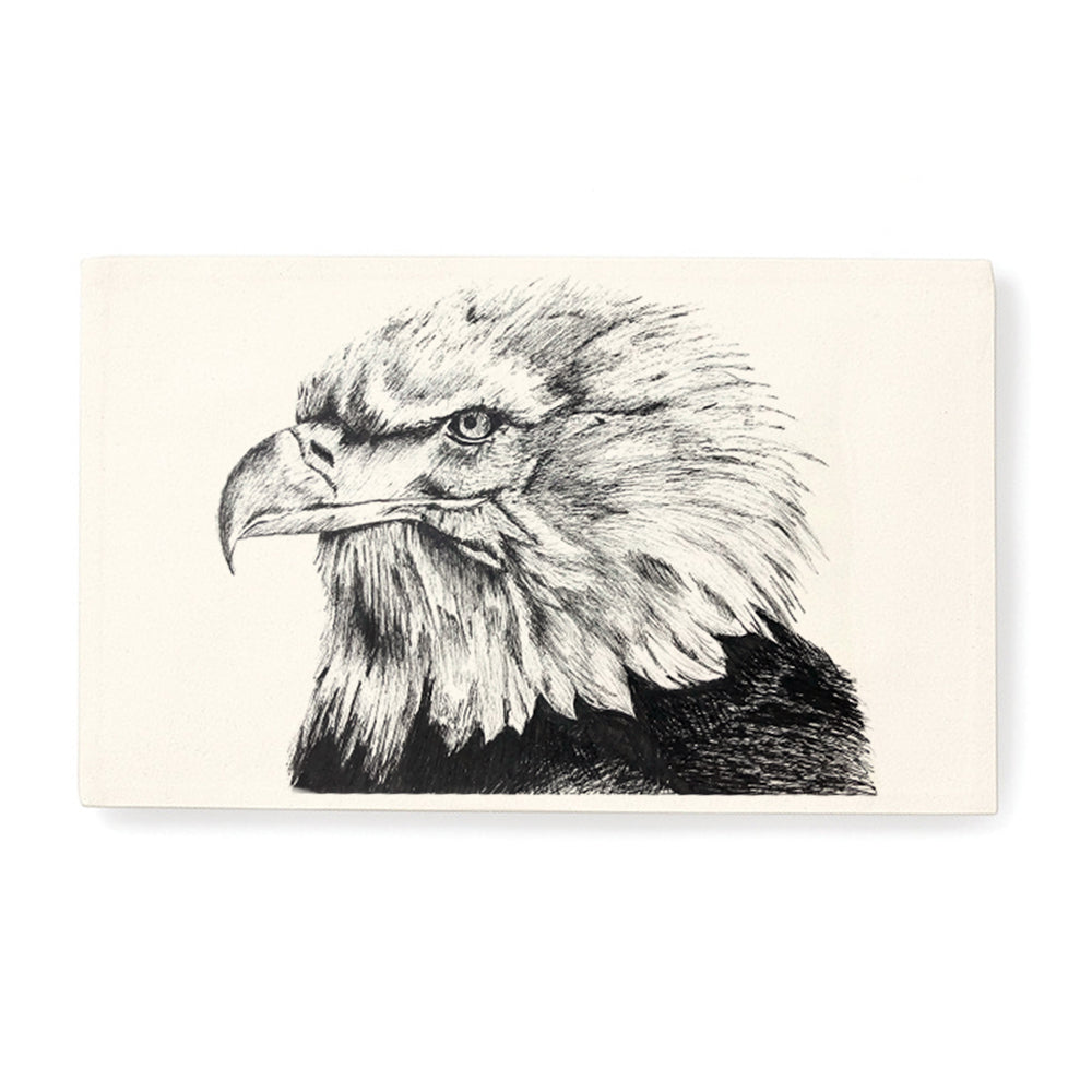 Cushion cover, Eagle Goat by Gill Pollitt