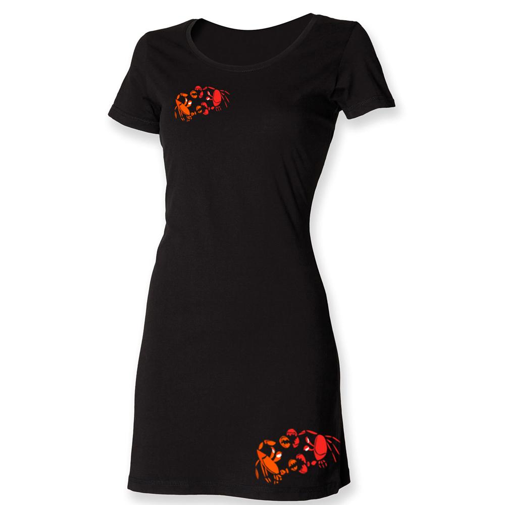 Dress - Crab Fight T-shirt Dress