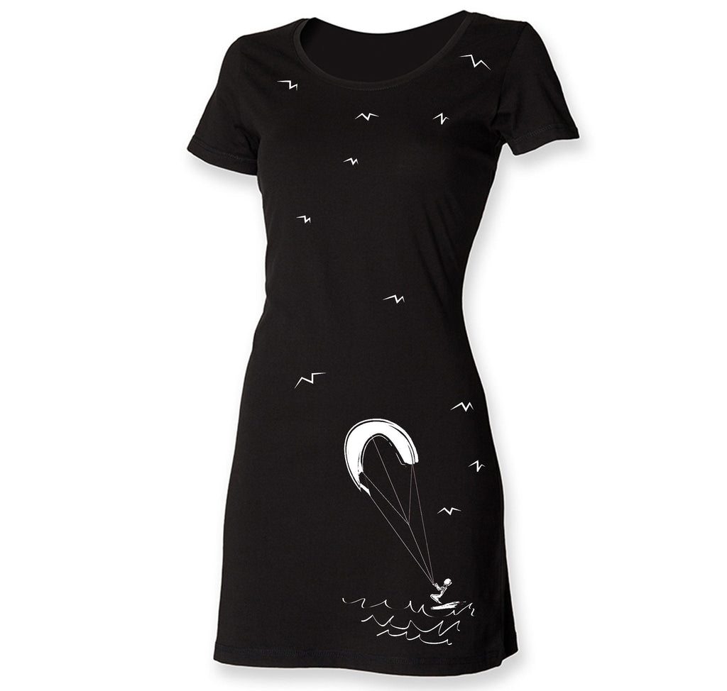 Dress - Kite Surf T-shirt Dress