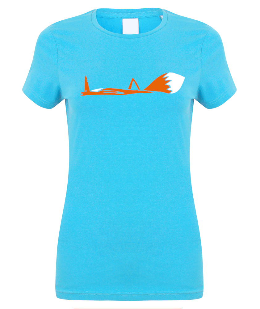 Fox down women t-shirt