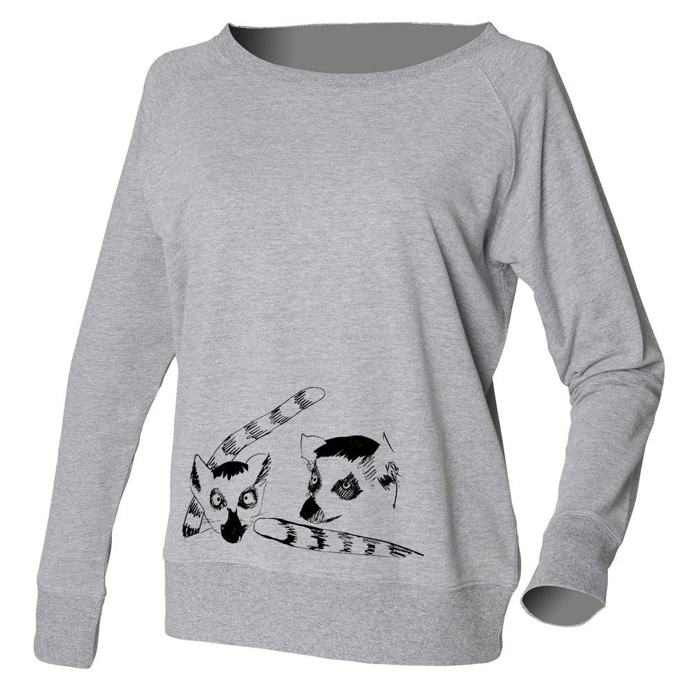 Lemur jumper, grey
