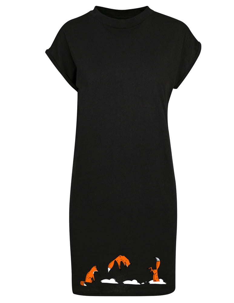 Jumping fox dress