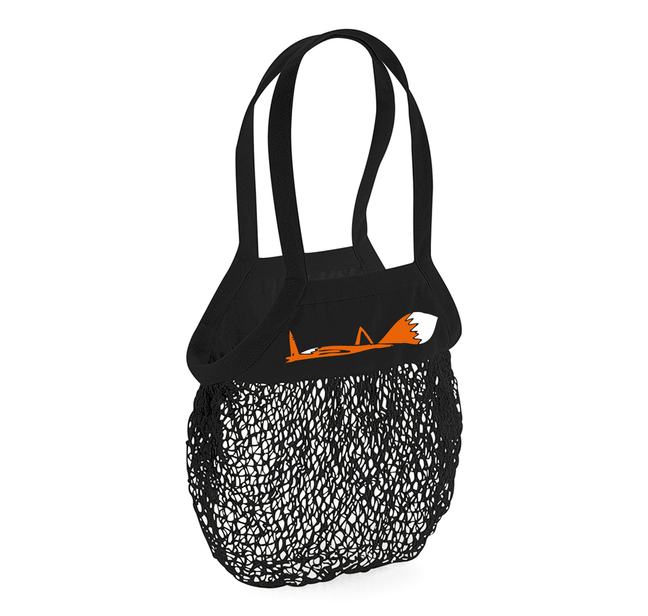 Mesh grocery bag, fox down