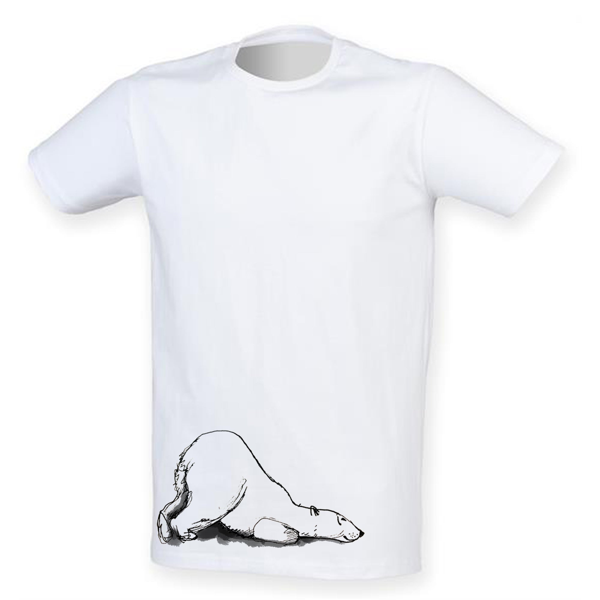 Polar bear men t-shirt
