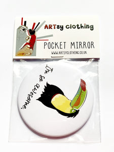 Pocket Mirror - Pocket Mirror, Awesome Toucan