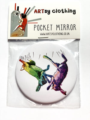 Pocket Mirror - Pocket Mirror, Boxing Hares