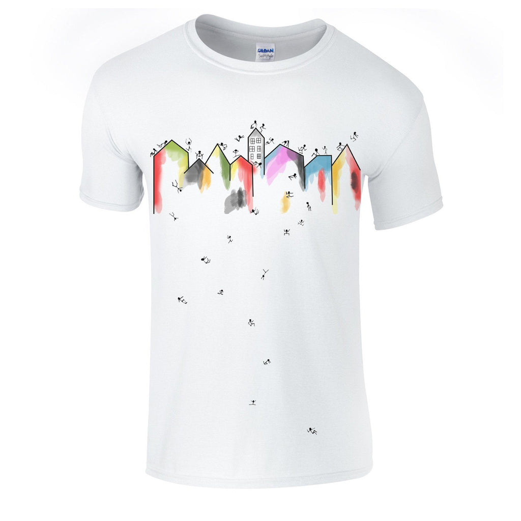 T-shirts - Architectural Stickmen T-shirt