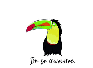T-shirts - Awesome Toucan Men T-shirt