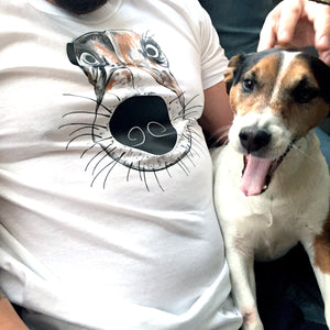 T-shirts - Dog Face T-shirt
