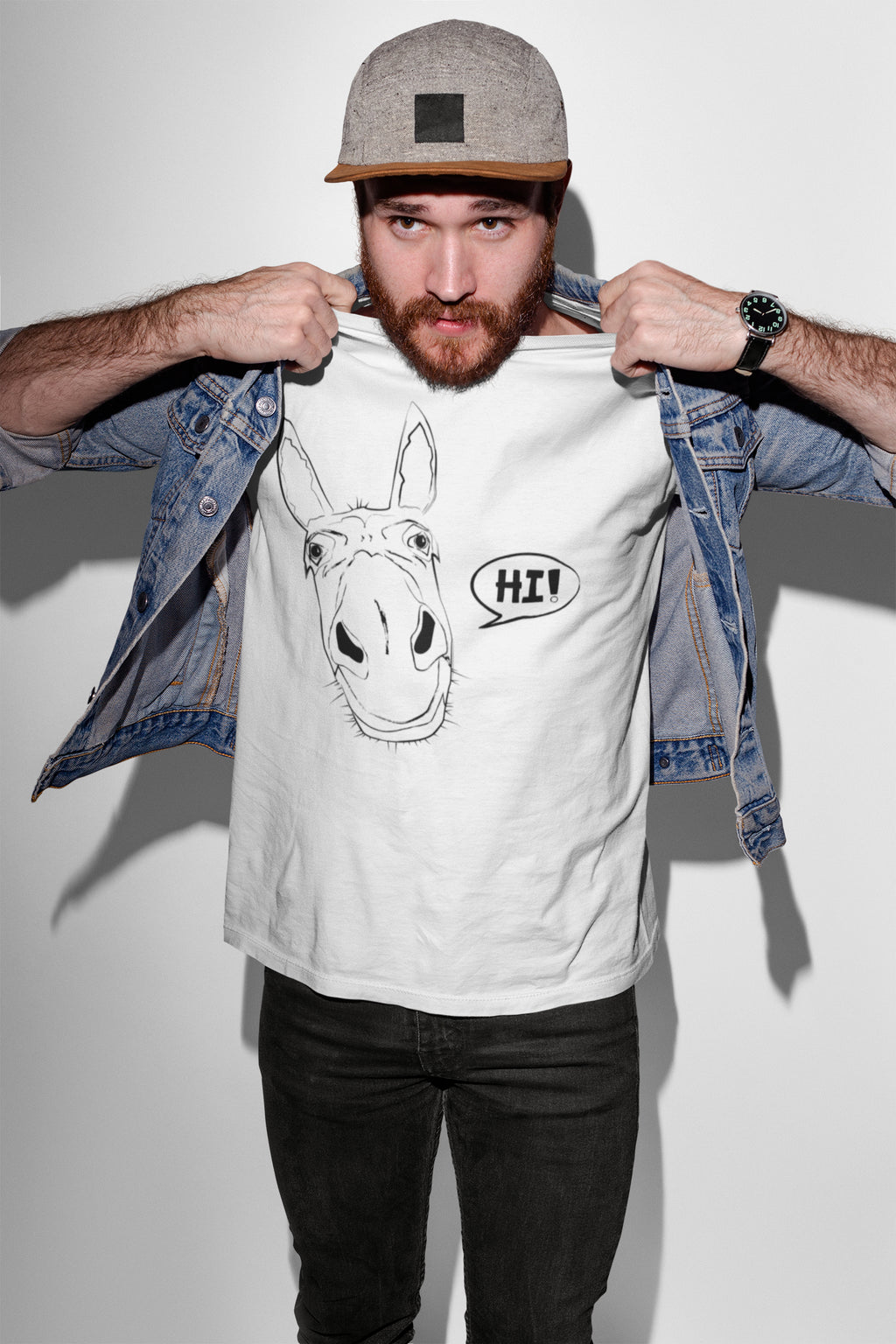 T-shirts - Donkey Men T-shirt