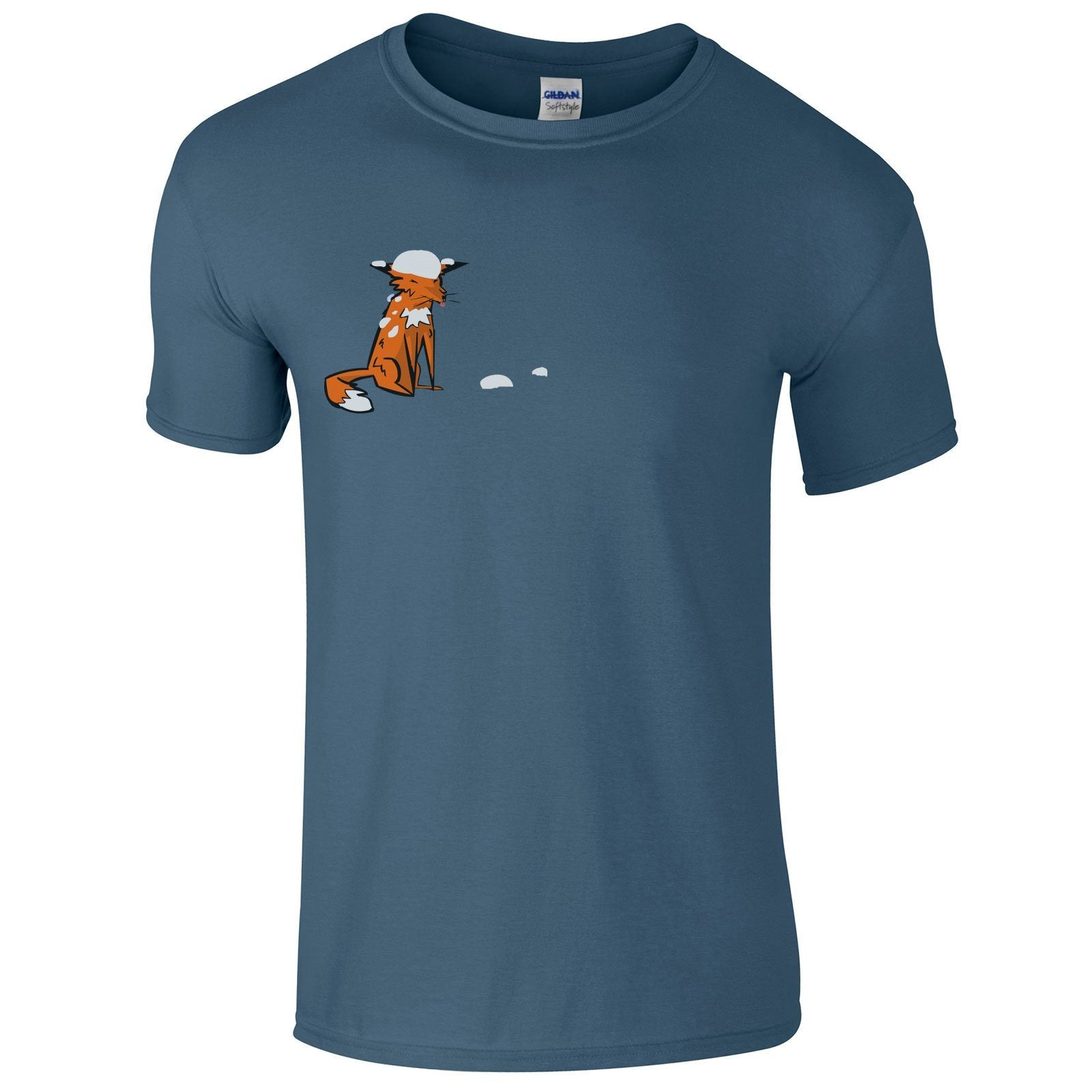 T-shirts - Fox And Snow Men T-shirt