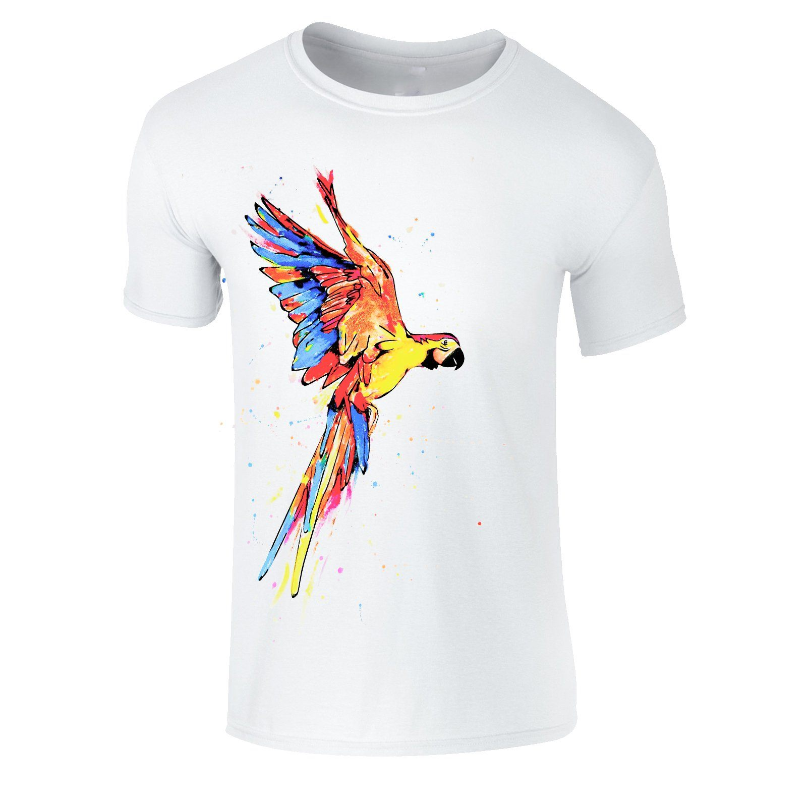 T-shirts - Funky Parrot Men T-shirt