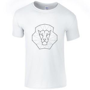 T-shirts - Geometric Minimal Lion T-shirt