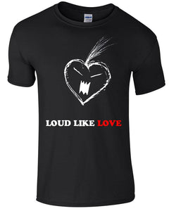 T-shirts - Loud Like Love T Shirt, Placebo Inspired