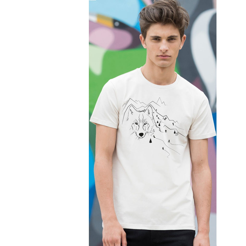 T-shirts - Mountain Wolf Men T-shirt