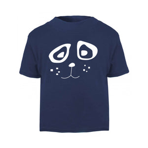 T-shirts - Panda Face Kids T Shirt