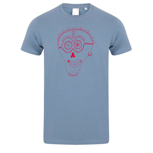 T-shirts - Punk Skull Men T-shirt