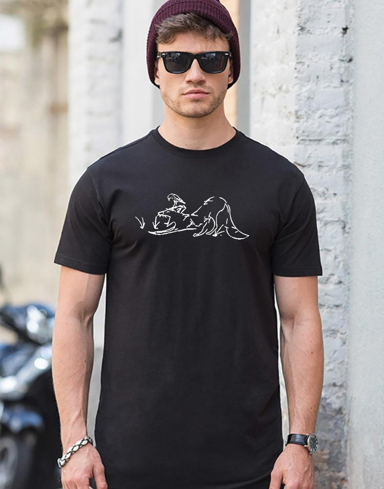 T-shirts - Sleepy Fox Men T-shirt