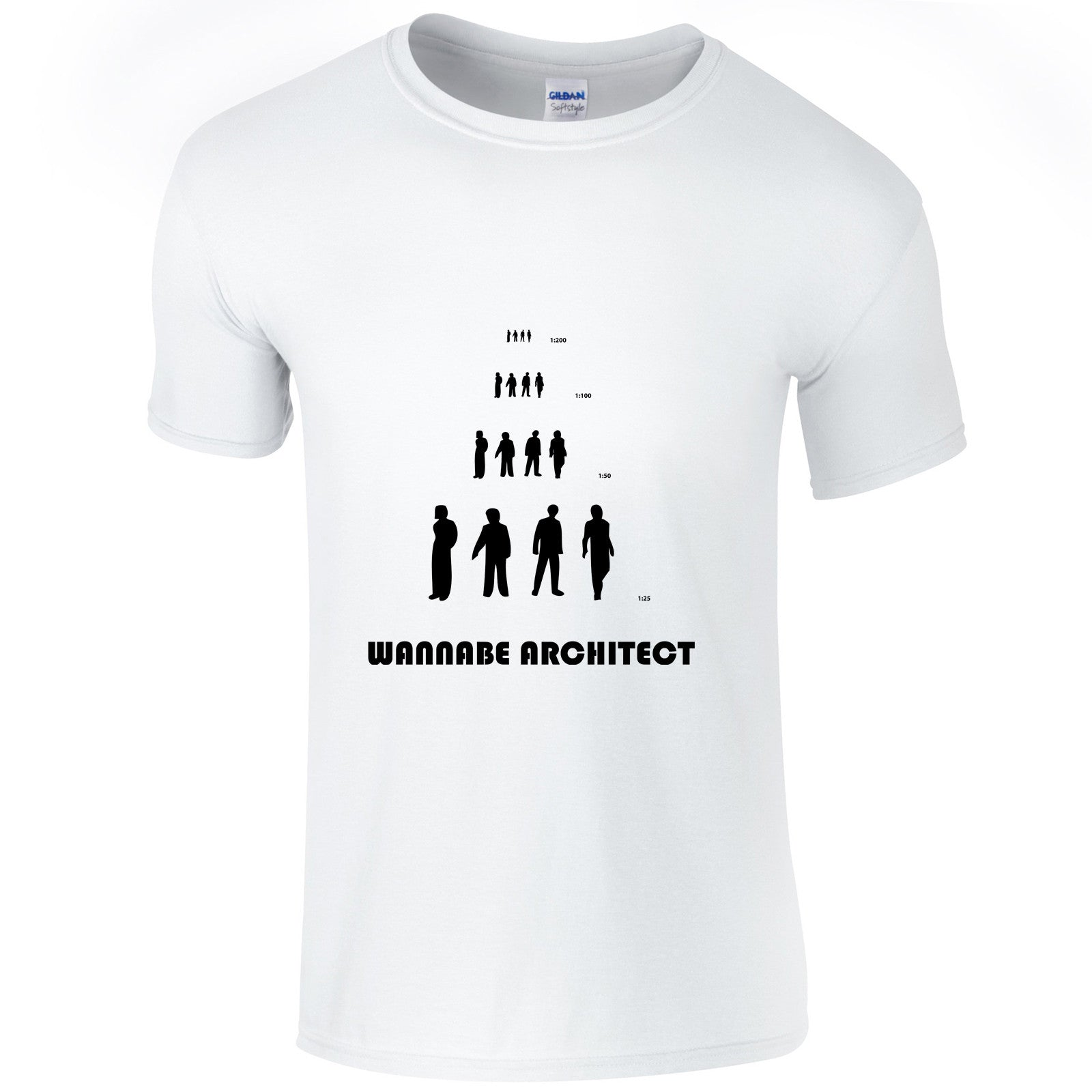 Wannabe architect t-shirt - ARTsy clothing - 2