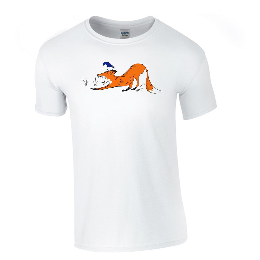 T-shirts - Yawning Fox Men T-shirt