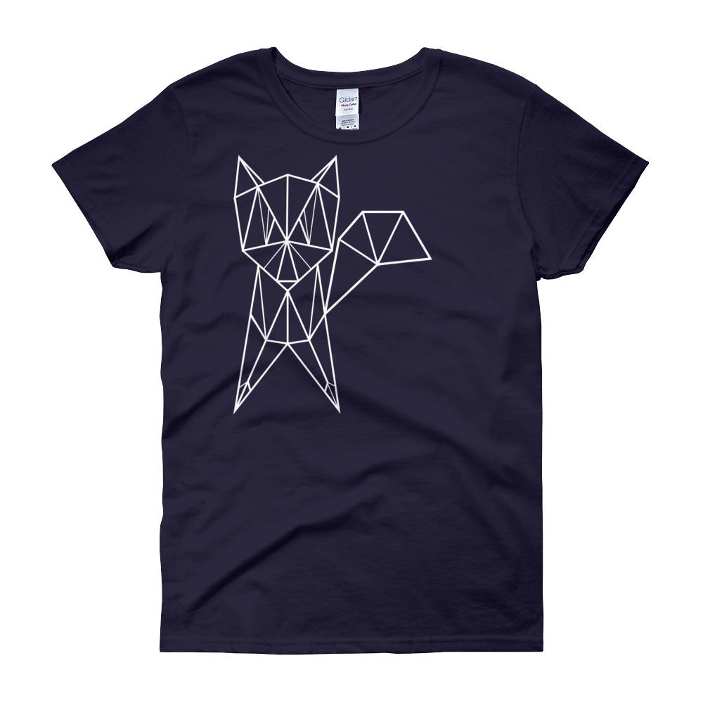 Women Top - Geometrical Fox T Shirt