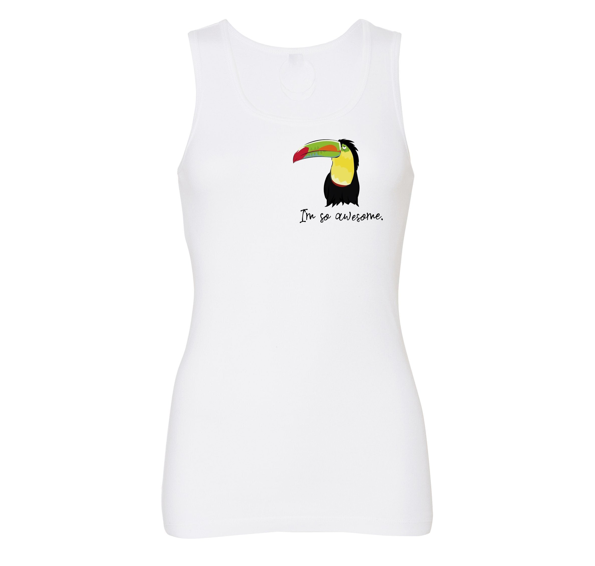Women Top - Toucan Tank Top