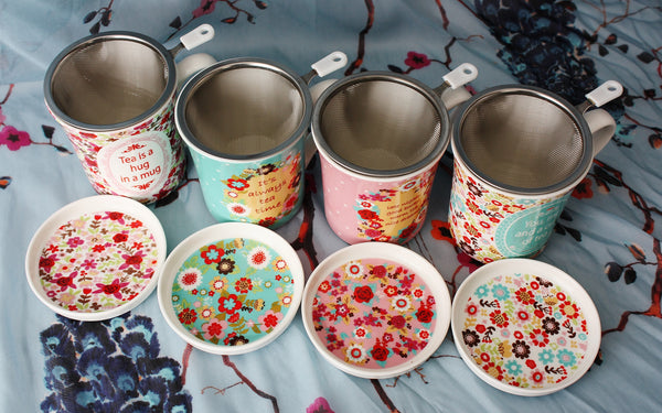 Tea Mugs for loose leaf tea