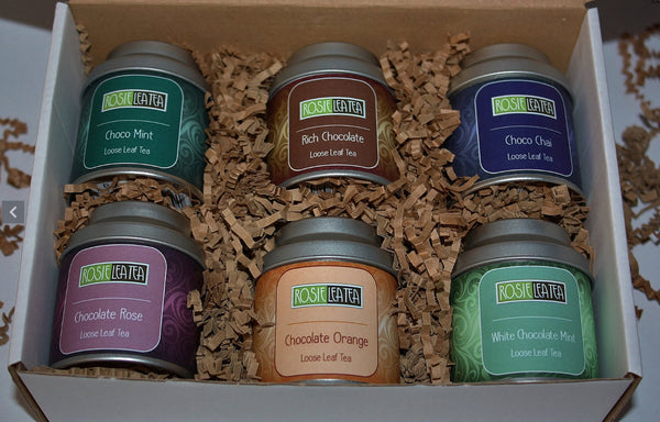 Chocolate Loose Leaf Tea Gift Set now available
