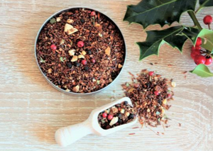 herbal tea - mince pie rooibos