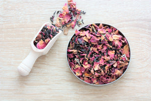 chocolate flavoured loose leaf tea