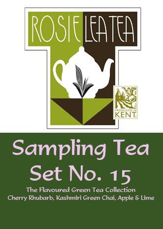 Sampling Tea Set No.15 - The Flavoured Green Tea Collection