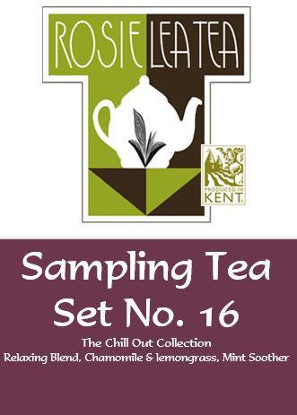 Sampling Tea Set No.16 - The Chill Out Collection