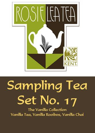 Sampling Tea Set No.17 - The Vanilla Collection