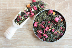 orange and cranberry loose leaf tea