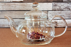 Sencha Glass Teapot with Glass Infuser