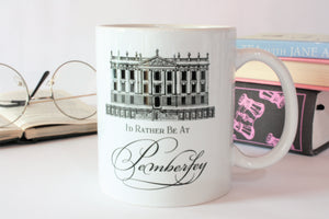 Jane Austen Tea Mug Gift Box