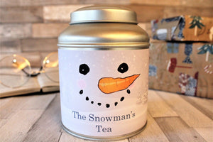 Snowman Tea Caddy