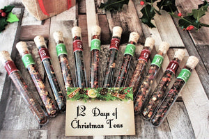 12 days of christmas loose leaf teas