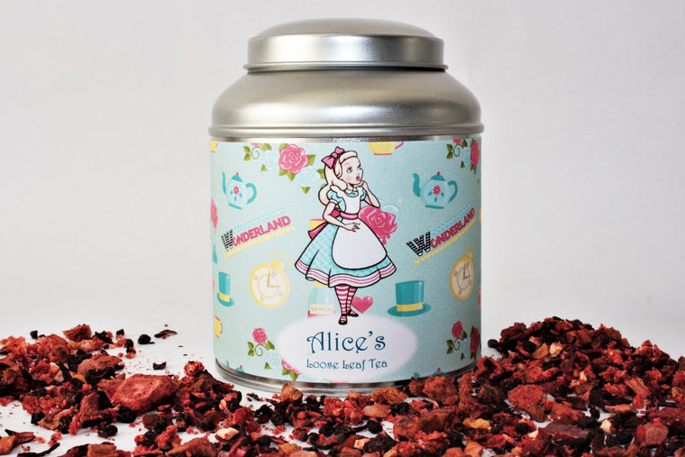 Alice's Tea Caddy Gift