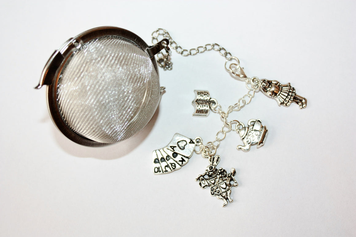 Alice in Wonderland tea infuser