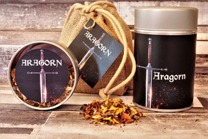 aragorn lord of the rings inspired tea