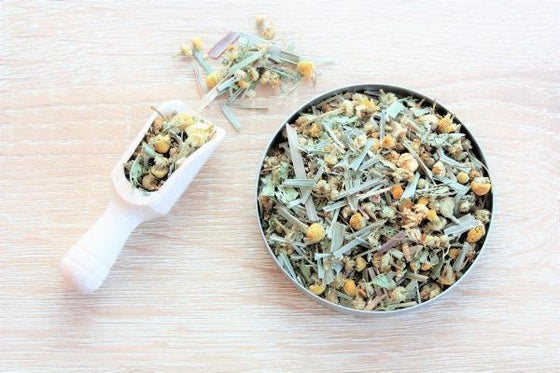 Chamomile and Lemongrass Herbal Tea